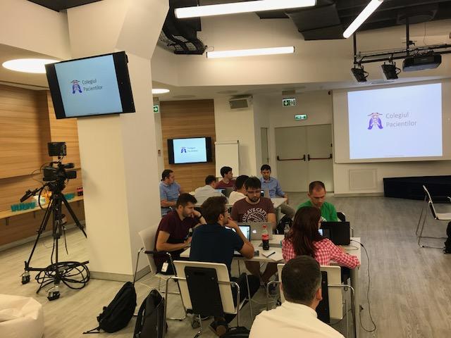 Colegiul Pacientilor la Deutsche Bank Global Technology